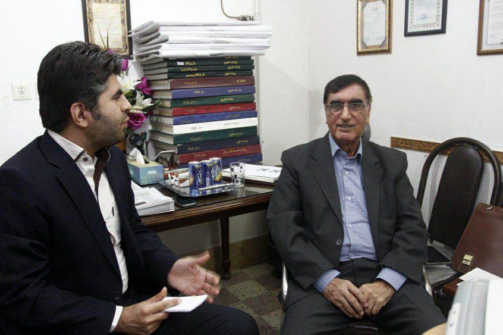 گفتوگوی اختصاصی هفته نامه طلوع جنوب با دکتر منصور پیروزرام