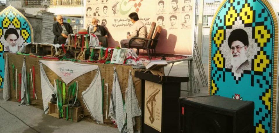 گزارش تصویری: آئین کوچه باغ شهادت/ عکس: علی گلچین