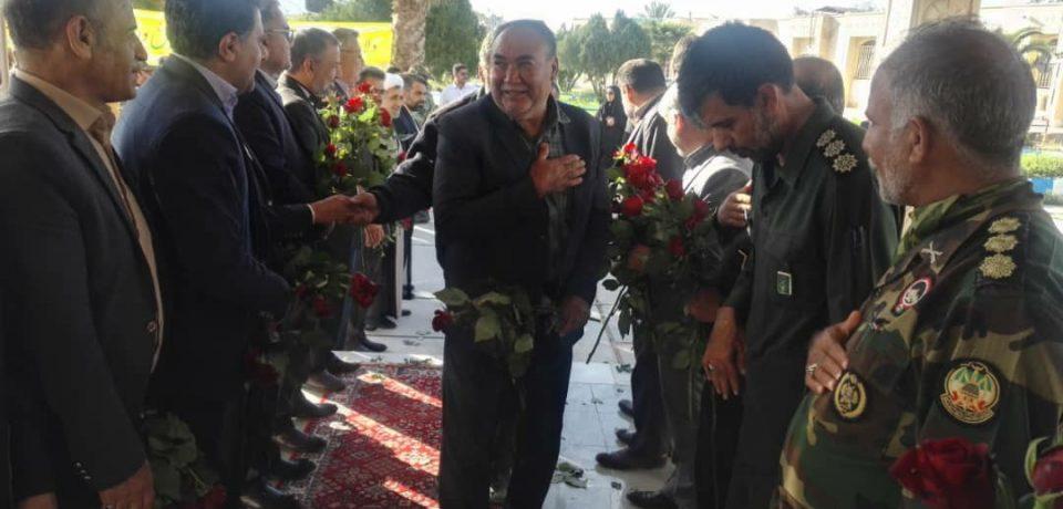 گزارش تصویری: آیین تجلیل از جانبازان و آزادگان به مناسبت روز جانباز/ عکاسان: داود کشاورز، علی و علیرضا گلچین
