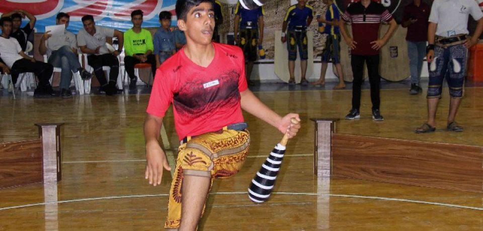 گزارش تصویری: مسابقات استانی تیمی و هنرهای فردی ورزش پهلوانی و زورخانهای در کازرون/ عکاسان: علی و علیرضا گلچین