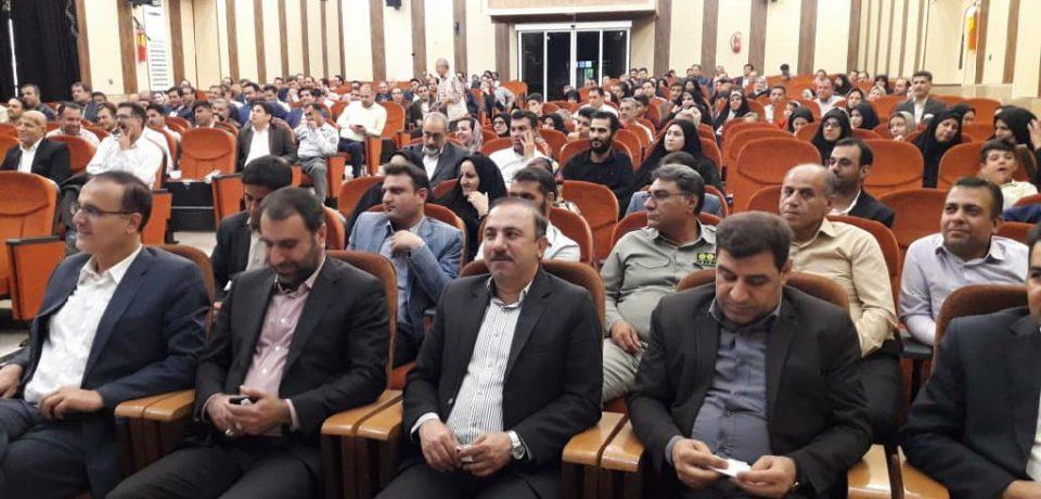 گزارش تصویری: افتتاح طرحهای هفته دولت در بخشهای خشت، قائمیه و بالاده و مراسم روز کارمند/ عکس: صمد شهبازیفرد