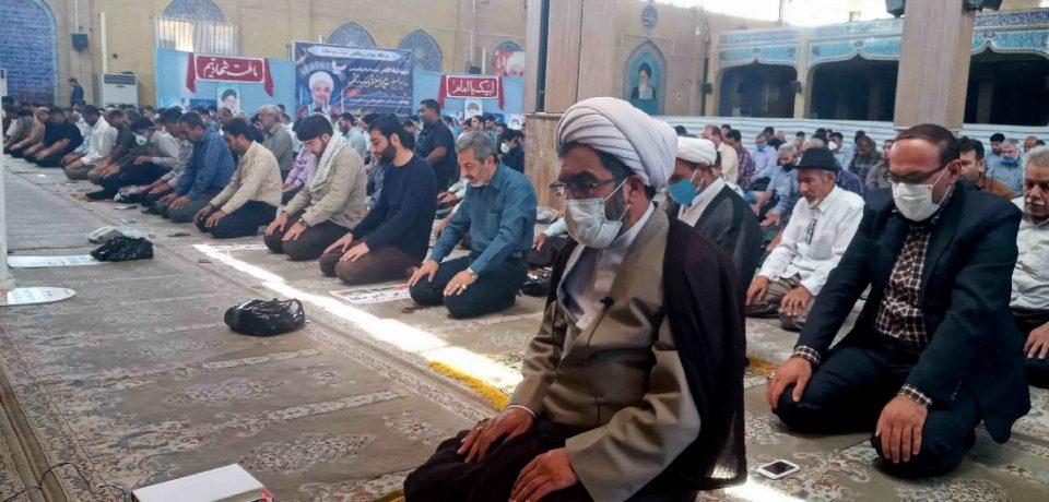 گزارش تصویری: اقامه نخستین نماز جمعه کازرون در سال جدید و مراسم روز قدس/ عکسها: علی و علیرضا گلچین
