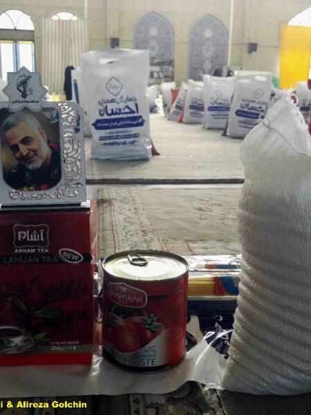 گزارش تصویری: رزمایش کمک مومنانه هفته بسیج در کازرون/ عکاسان: علی و علیرضا گلچین
