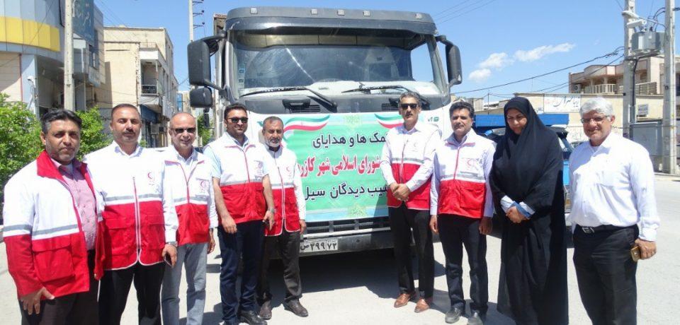 شهردار کازرون خبر داد؛ جمعآوری محموله کمکهای شهرداری و شورای شهر برای سیلزدگان