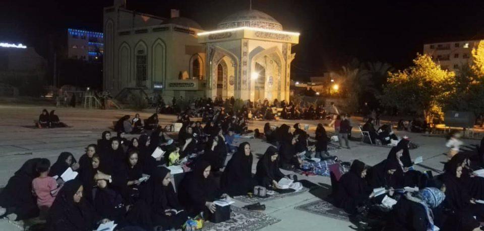گزارش تصویری: شب ۱۹ رمضان؛ از پیش از افطار تا سحر/ عکاسان: علی و علیرضا گلچین