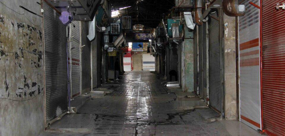 گزارش تصویری: بازار و کسبه کازرون در هفته محدودیتهای جامع کرونایی/ عکس: علی و علیرضا گلچین